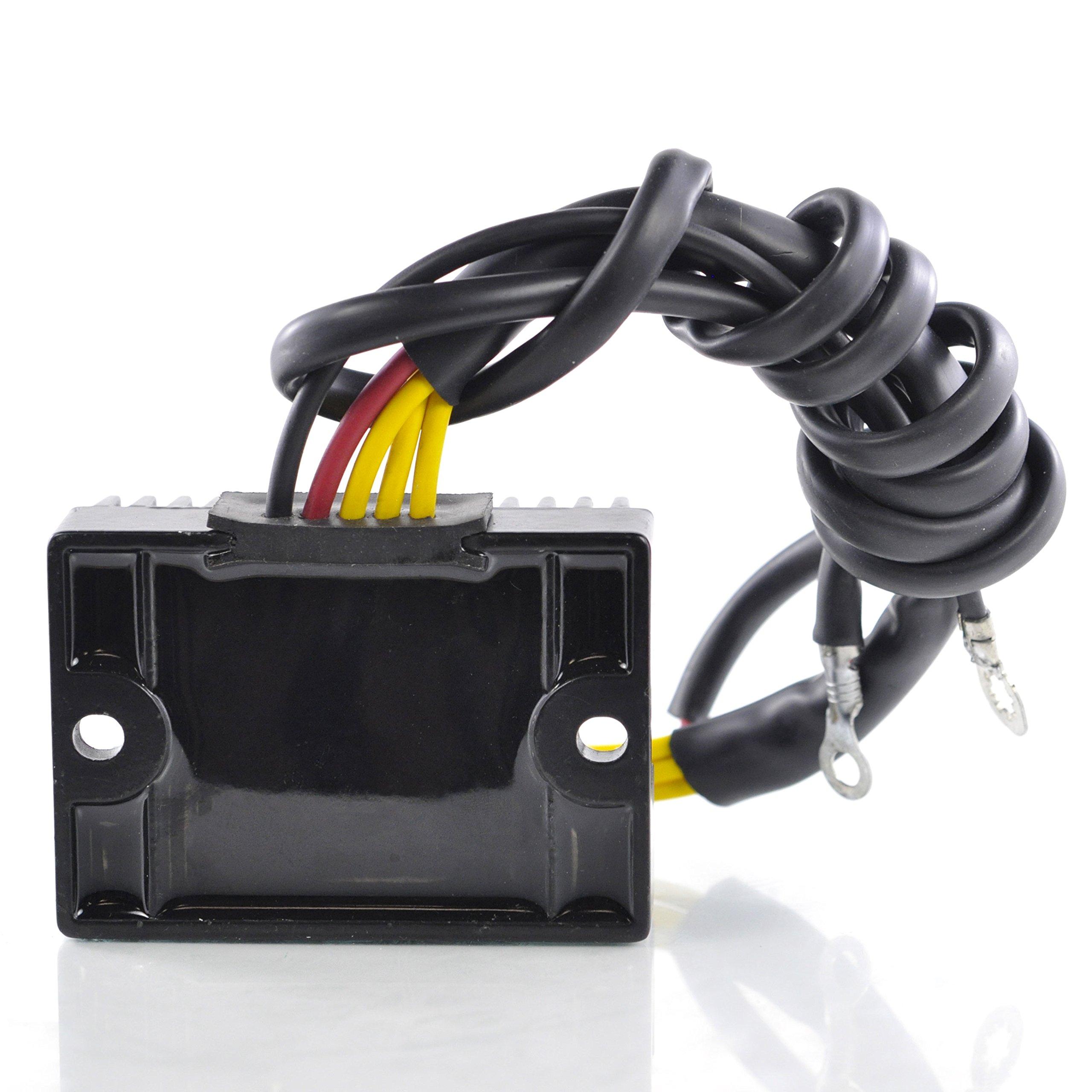 Mosfet Voltage Regulator Rectifier For Victory V92C Cruiser / V92C Deluxe Cruiser / V92SC Sport Cruiser 2001 OEM Repl.# 2410209 by RMSTATOR (Image #2)