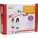 YELLOW SCOPE   DNA & Traits Science Kit: from Codes to Creatures. Explore DNA and Genetics with This Fun Biology Kit!