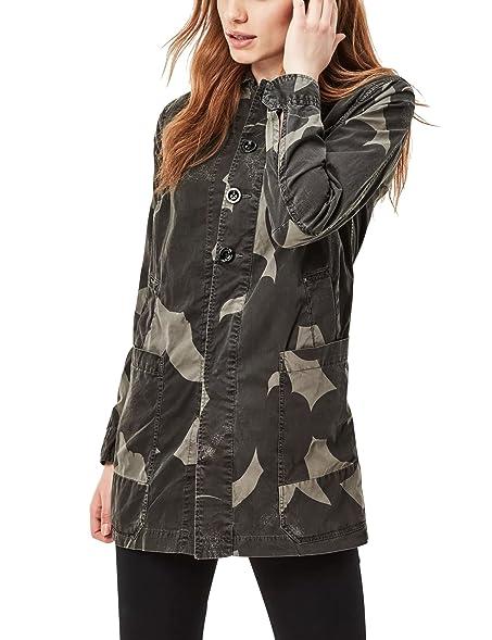 G-Star Women\u0027s Bronson Utility Grey Overcoat in Size M Grey