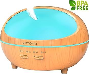 Aptoyu 300ml Essential Oil Diffuser