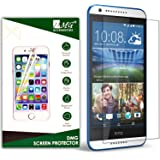Dmg 2.5D Bubble-Free Tempered Screen Protector For Htc Desire 620G (No Fingerprints Anti-Scratch Oil Coated Washable)