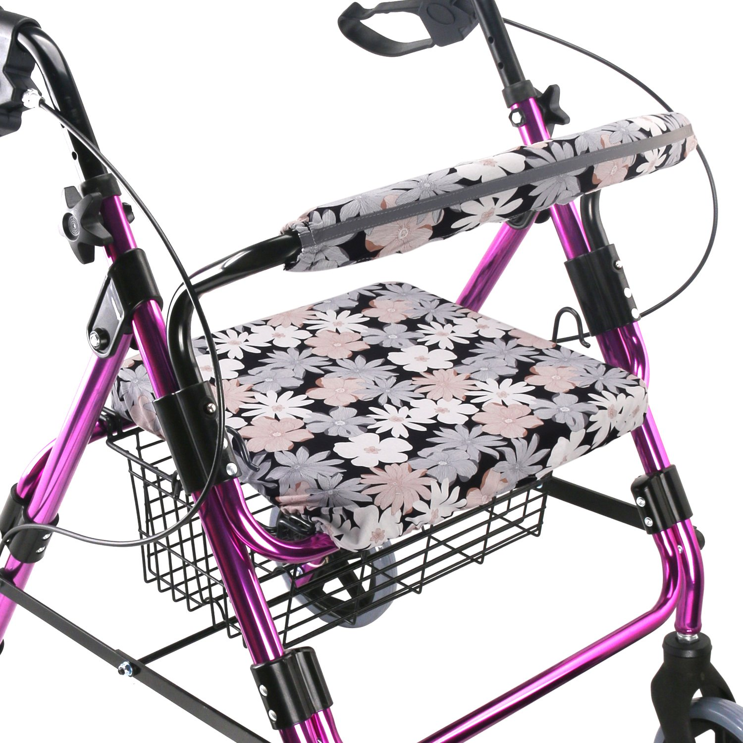Walker Seat Cover Rollator Walker Seat and Backrest Covers Vibrant Walker Cover One Size Multiple Colors (CB1883)