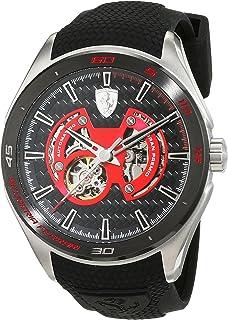 Ferrari Gran Premio Black Skeleton Dial Automatic Mens Watch 830348