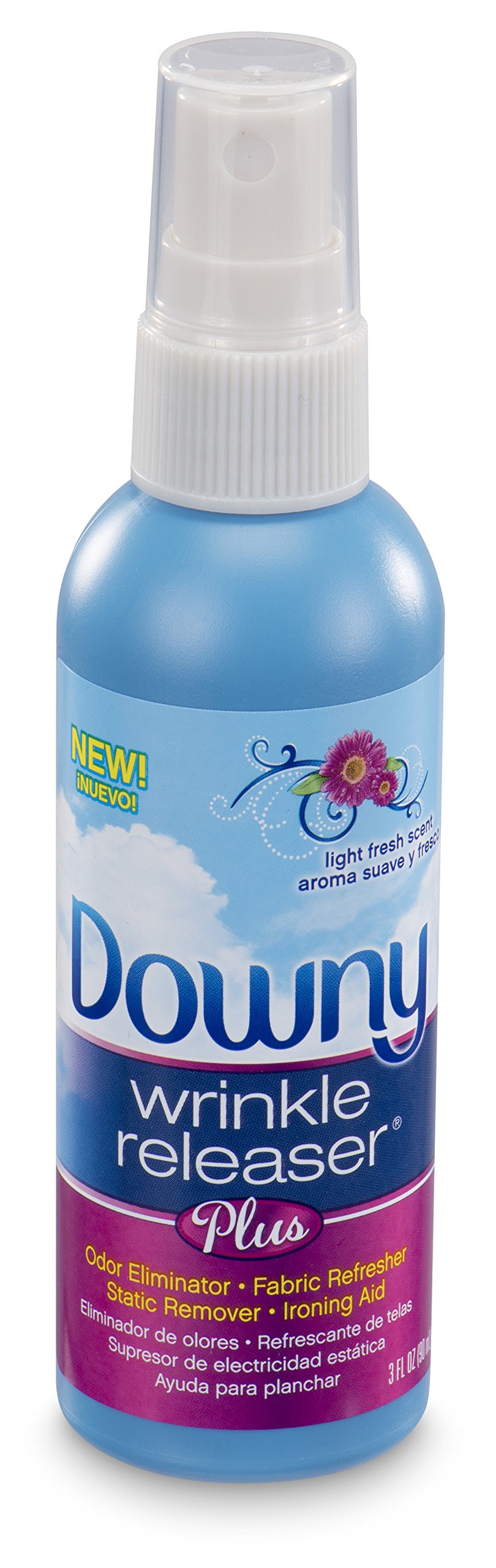 Downy Wrinkle Releaser Plus Light Fresh Scent, Travel Size, 3 Fl Oz (Pack of 12) by Downy (Image #1)