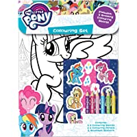 My Little Pony Set de coloriage avec crayons et autocollants