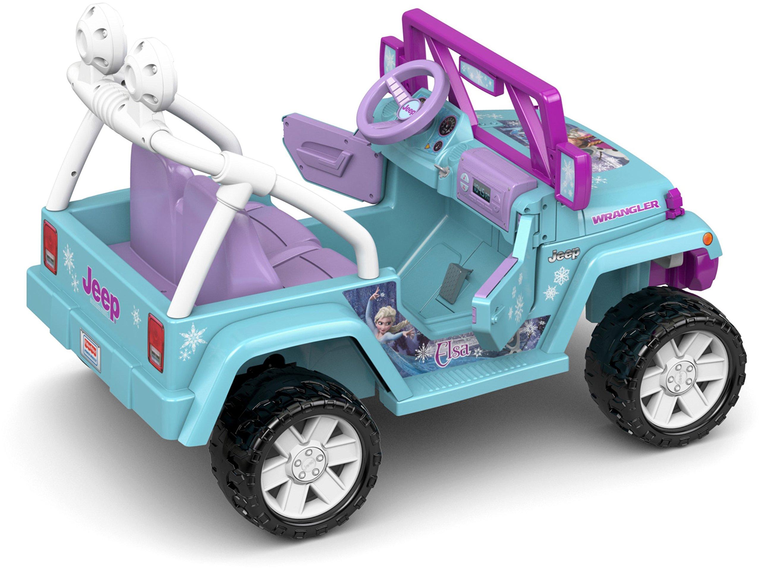 Power Wheels Disney Frozen Jeep Wrangler by Fisher-Price (Image #8)