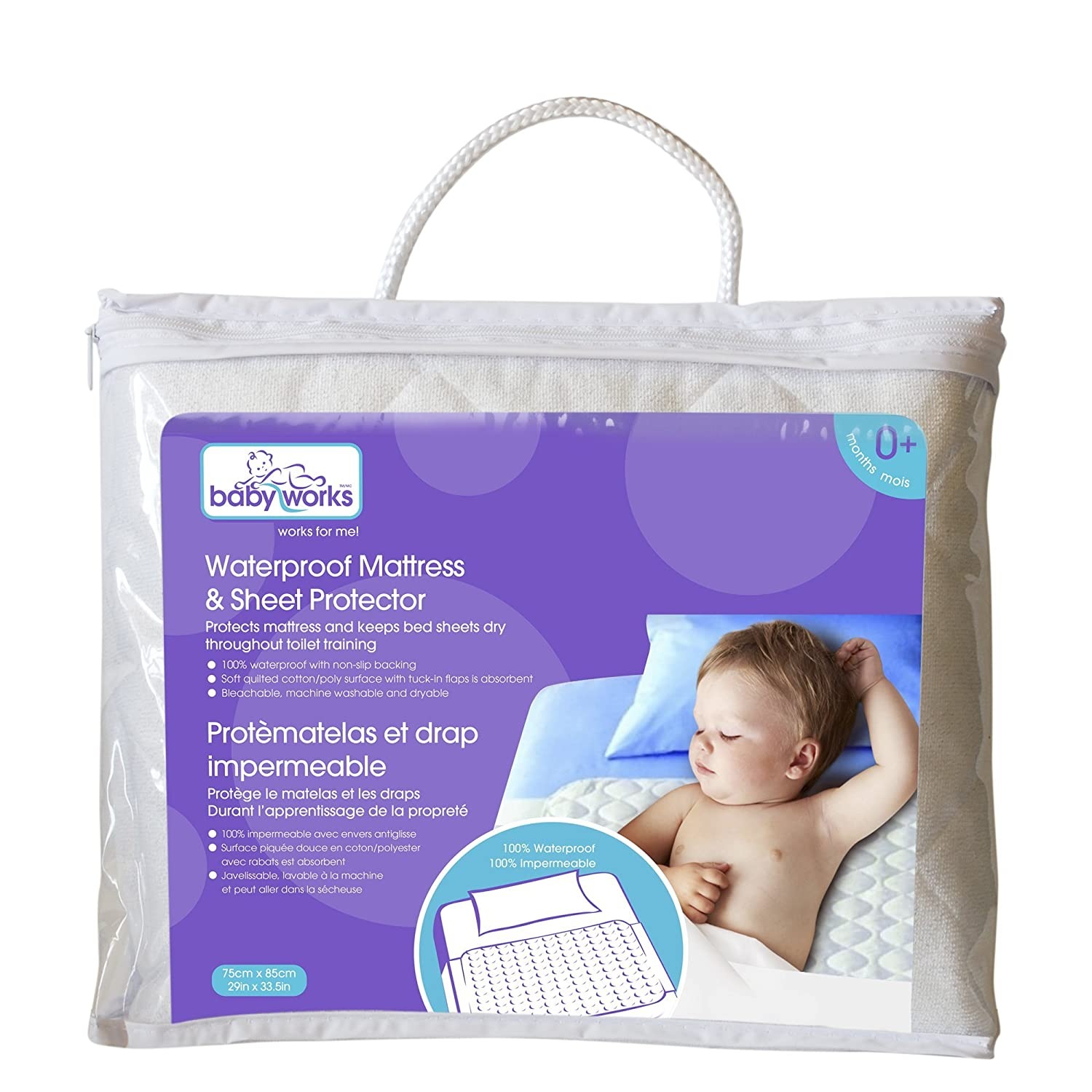 Baby Works Waterproof Mattress & Sheet protector 29009