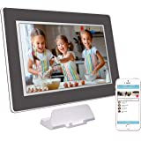 PhotoSpring (16GB) 10 inch WiFi Cloud Digital Picture Frame - Battery, Touch Screen, Plays Video and Photo Slideshows…