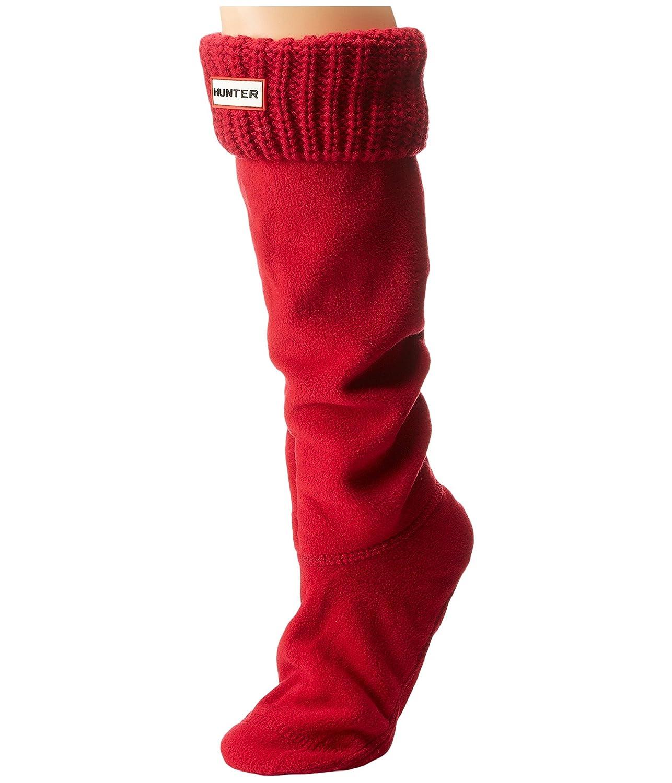 Hunter Womens Half Cardigan Boot Socks