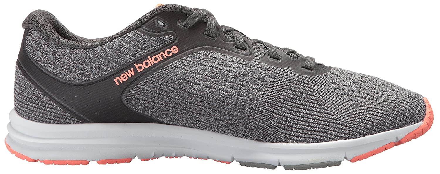 New Balance Women's 635v2 Cushioning Running Shoe B06XRVRHKG 9 D US|Grey