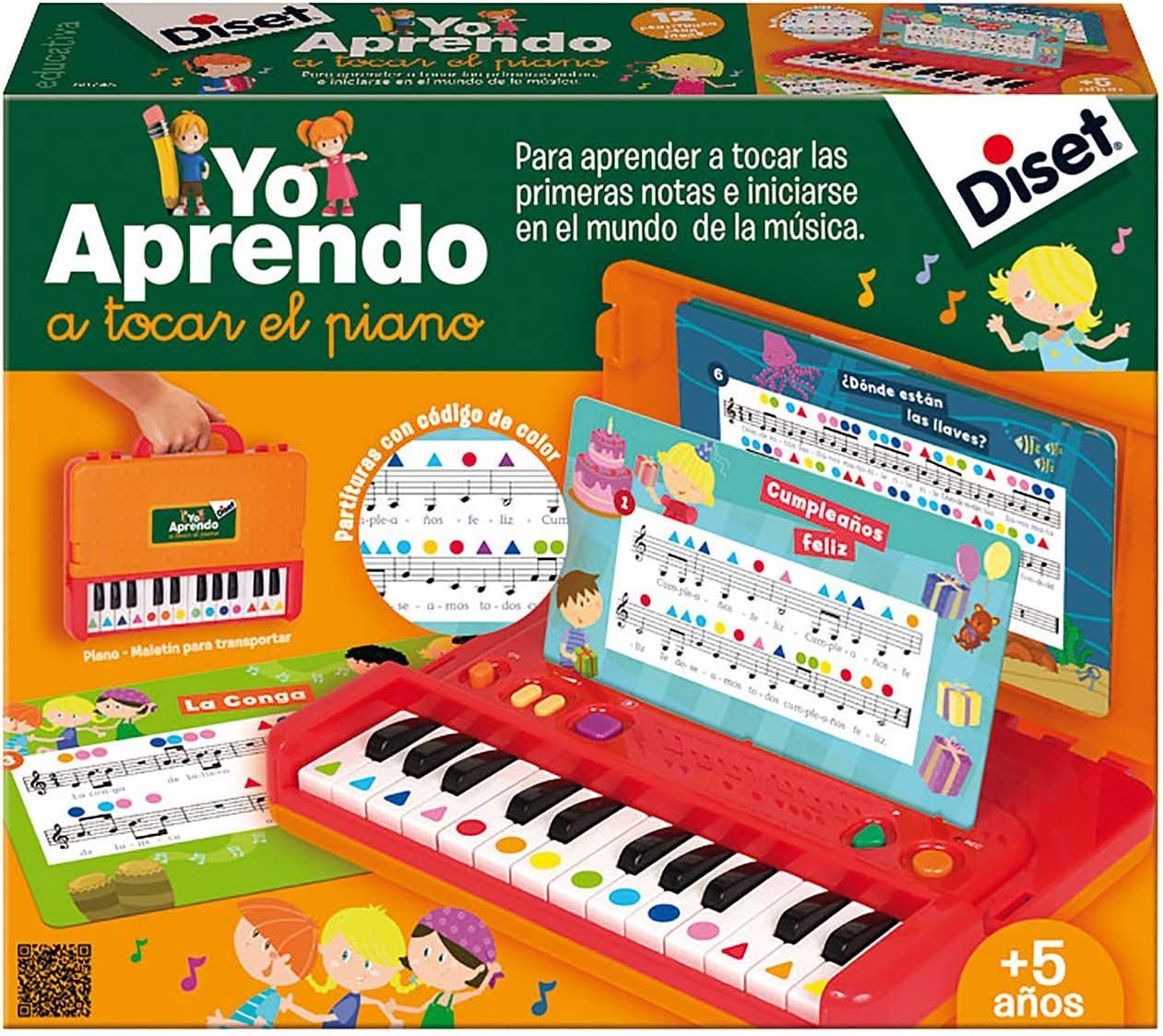 Diset - Yo aprendo a tocar el piano - Juguete educativo a partir de 5 años