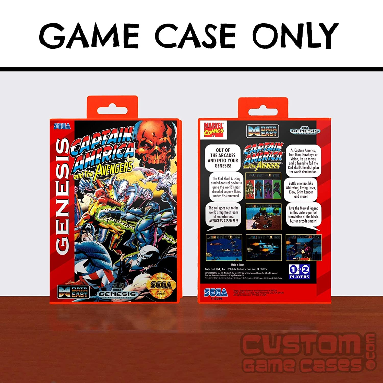 Sega Genesis Captain America and the Avengers - Case
