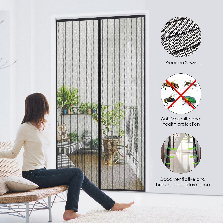 fliegengitter t r insektenschutz magnet fliegenvorhang balkont r terrassent r ebay. Black Bedroom Furniture Sets. Home Design Ideas