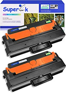 SuperInk 2 Pack Premium High Yield Toner Cartridge Replacement Compatible for Samsung MLT-D115L 115L MLT-D115S Work with Xpress SL-M2830DW SL-M2870FW SL-M2820DW M2880FW SL-M2620 M2670 Printers