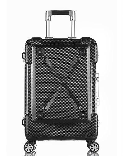 73a2bda021 Amazon | [レジェンドウォーカー] スーツケース 多機能付きアウトドア型キャリーケース Lサイズ 86L 76 cm 6.1kg  6302-69 ブラック | スーツケース