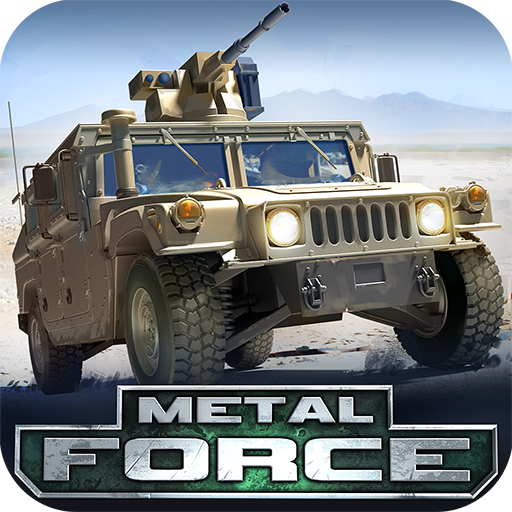 Metal Force - War Modern Tanks: Best Free Fire Games (Best Car Shooting Games)