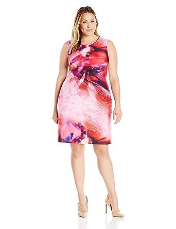 Julia Jordan Women\'s Plus Size Floral Shift Dress