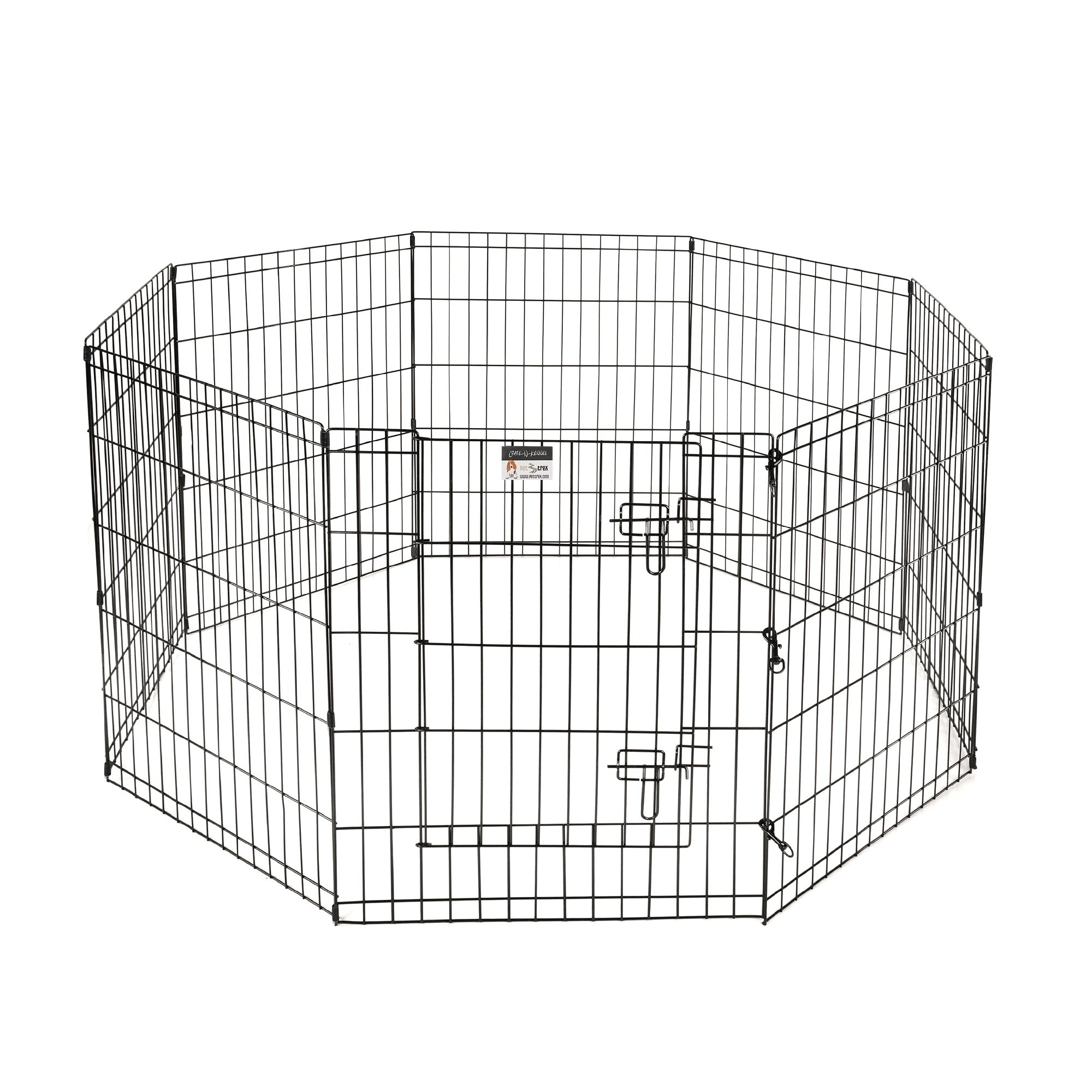 Pet Trex 30'' Playpen for Dogs Eight 24'' Wide x 30'' High Panels by Pet Trex (Image #2)
