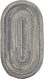 "product image for Harborview Cinder 0' 20"" x 0' 30"" Oval Braided Rug"