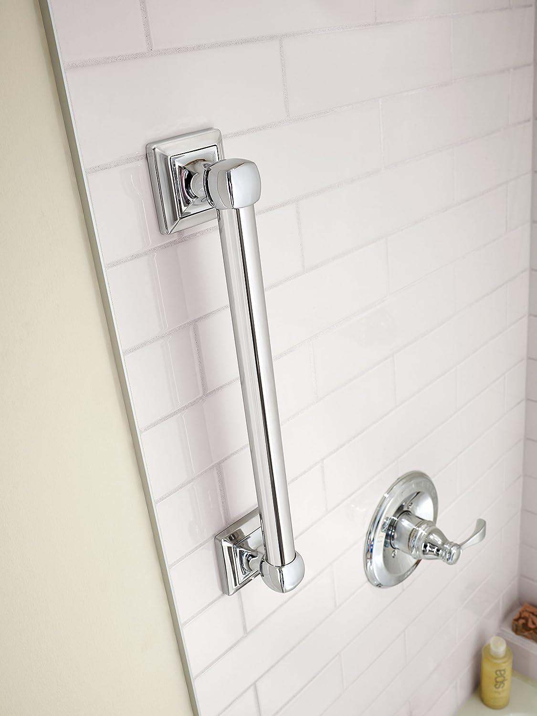 Delta DSQ5916-PC Harvard Square Decorative Bathroom Safety Grab Bar 16