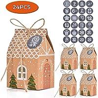 FORMIZON 24 Cajas de Regalo Navidad, Bolsa