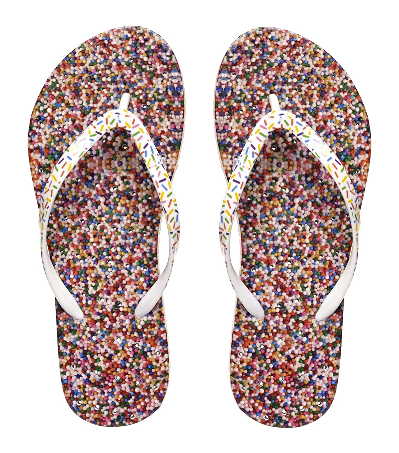 a86d44836 Amazon.com  Showaflops Womens  Antimicrobial Shower   Water Sandals for  Pool