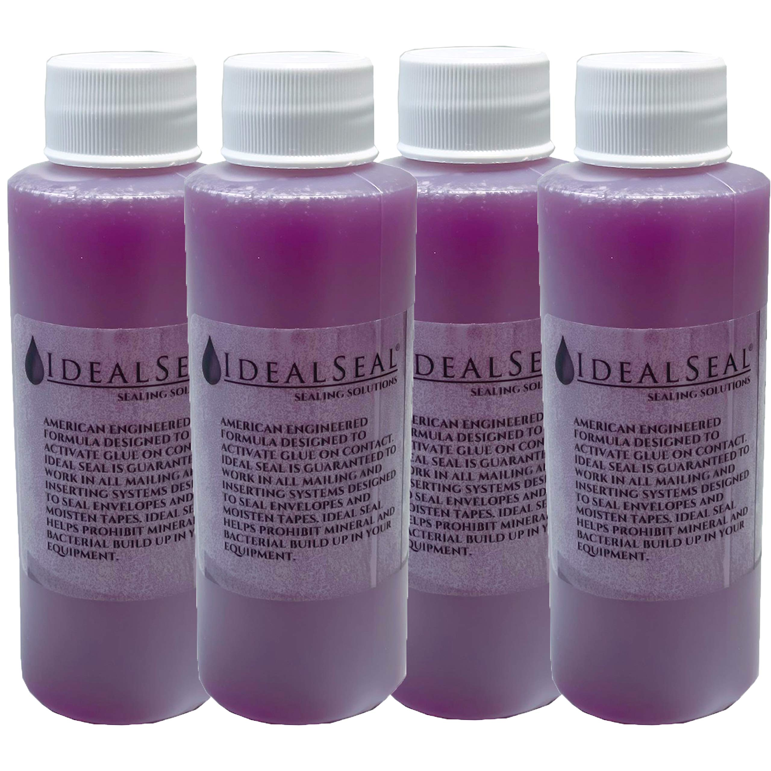 IDEALSEAL 1 Bottle 4 Oz. of Concentrated Sealing Solution Makes 2 Gallons Compare to Pitney Bowes EZ Seal (4) by IDEALSEAL