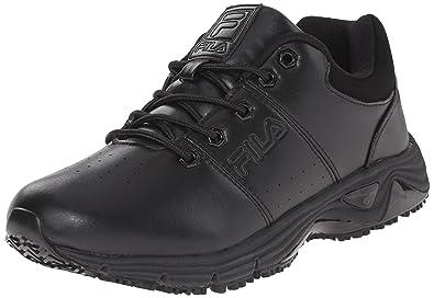 15f050c75c Fila Men's Memory Breach Sr Low Slip Resistant Work Shoe