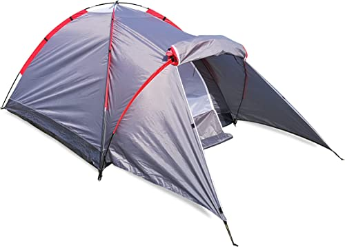 Tril Lion 2-3 Person Dome Camping Tent for Hiking, Backpacking, Garden and Picnics