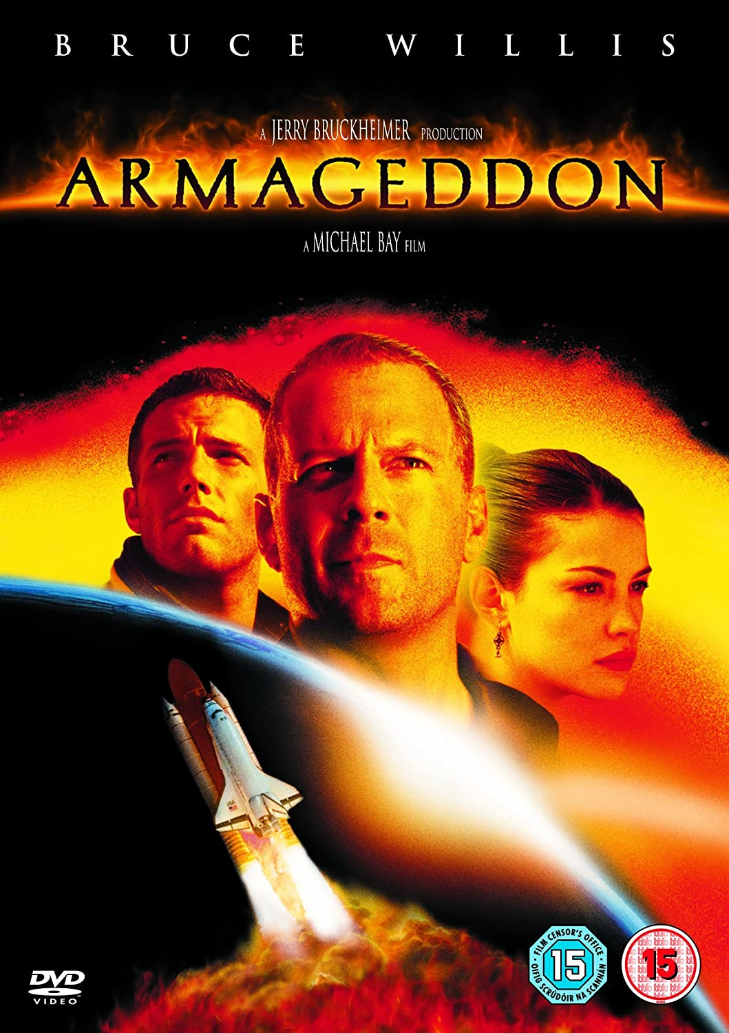 Amazon.com: Armageddon [DVD]: Bruce Willis, Billy Bob Thornton ...