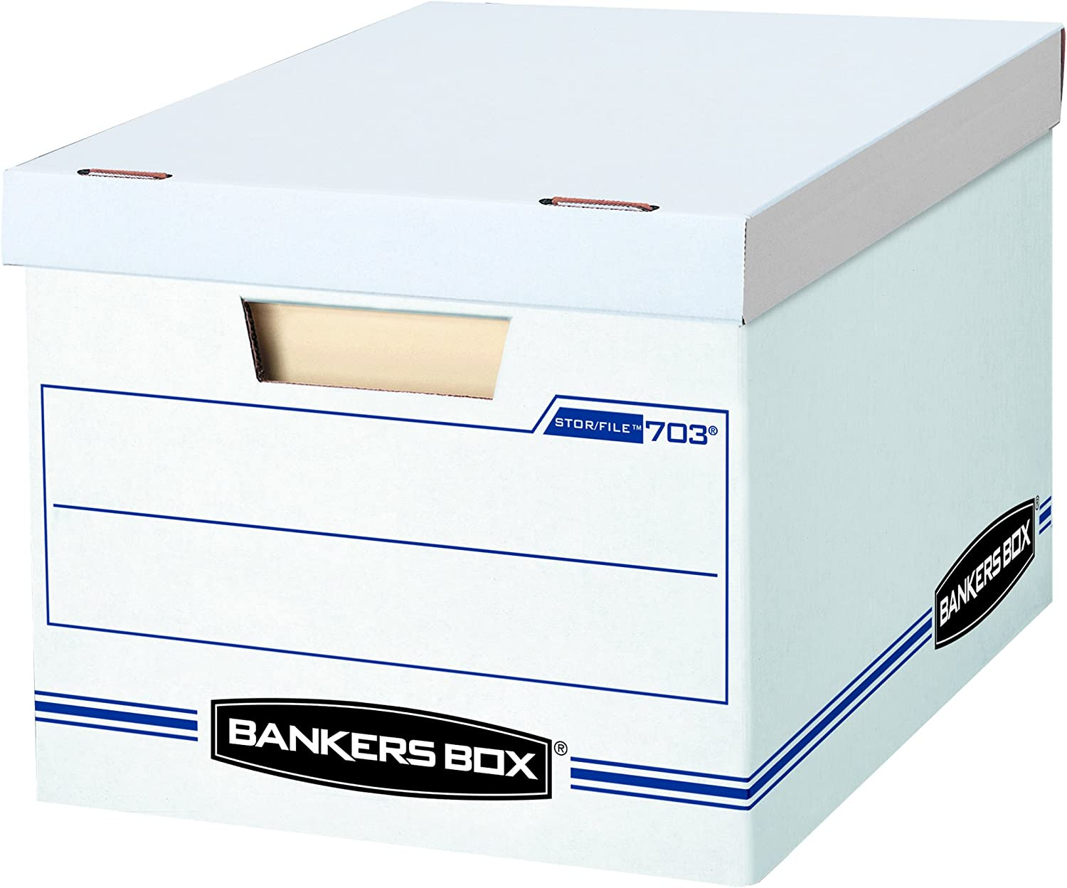 10 x 12 x 15 Letter//Legal Bankers Box Stor//File Decorative Storage Boxes