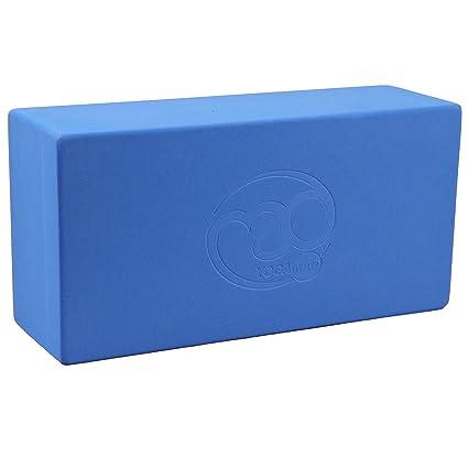 Amazon.com : Yoga-mad Hi Density Yoga Brick - Blue : Yoga ...