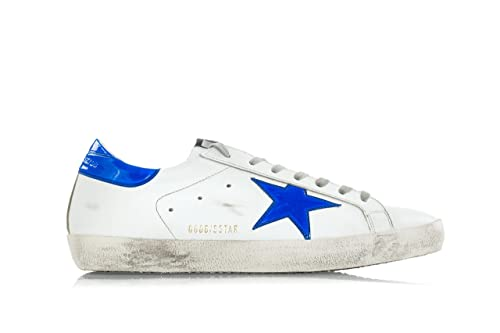 Fluo Scarpe Leather Golden With Uomo Sneakers Star 'superstar' Goose dBCxoe