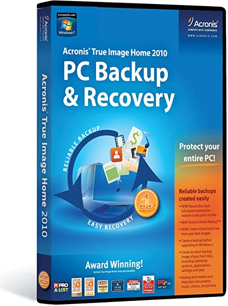 Acronis True Image Home 2010 For Sale