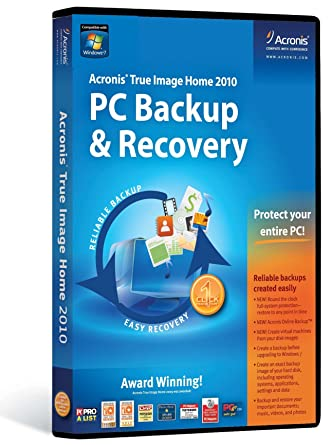 Acronis True Image 2010 Program Cost