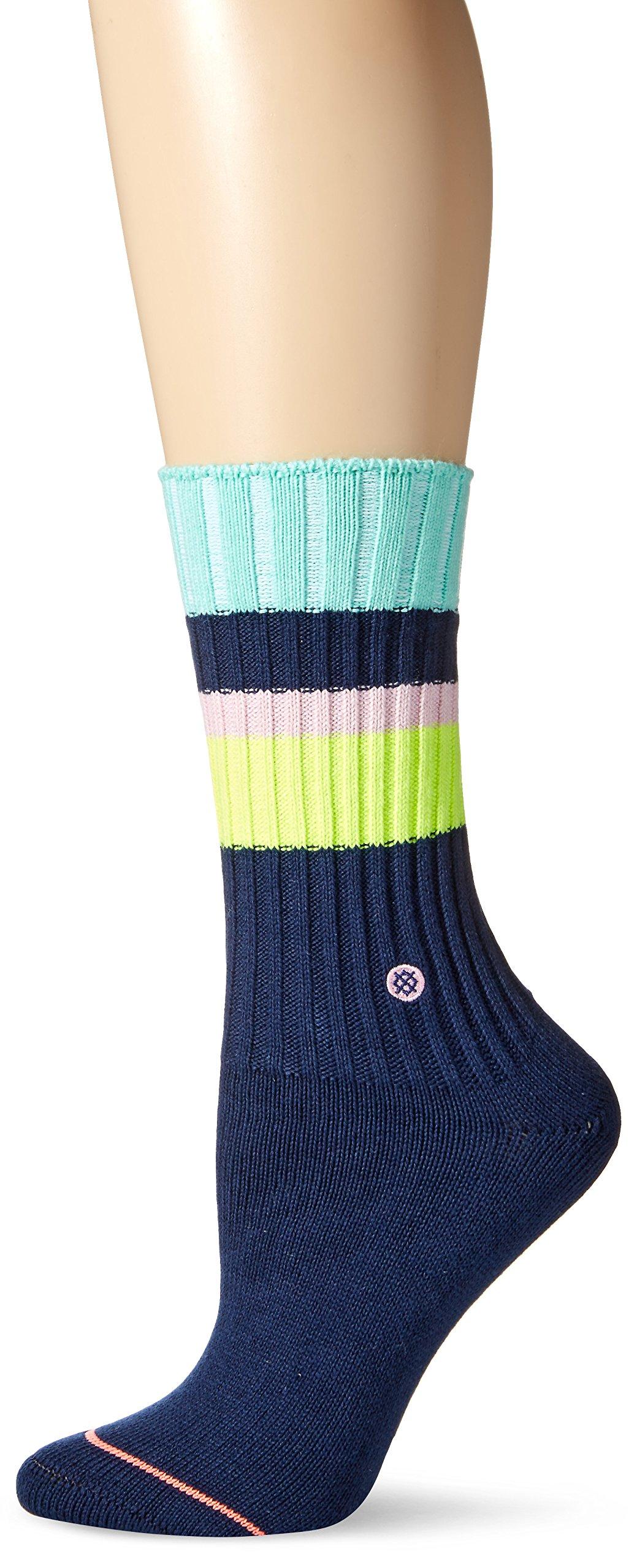 Stance Women's Basic Boot Sock, Navy, Small