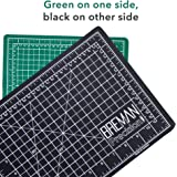Large Self Healing Cutting Mat – Professional Double Sided Flexible Fabric Rotary Mat Ideal for All Arts & Crafts Including Sewing Quilting– A2(24X18) Inches