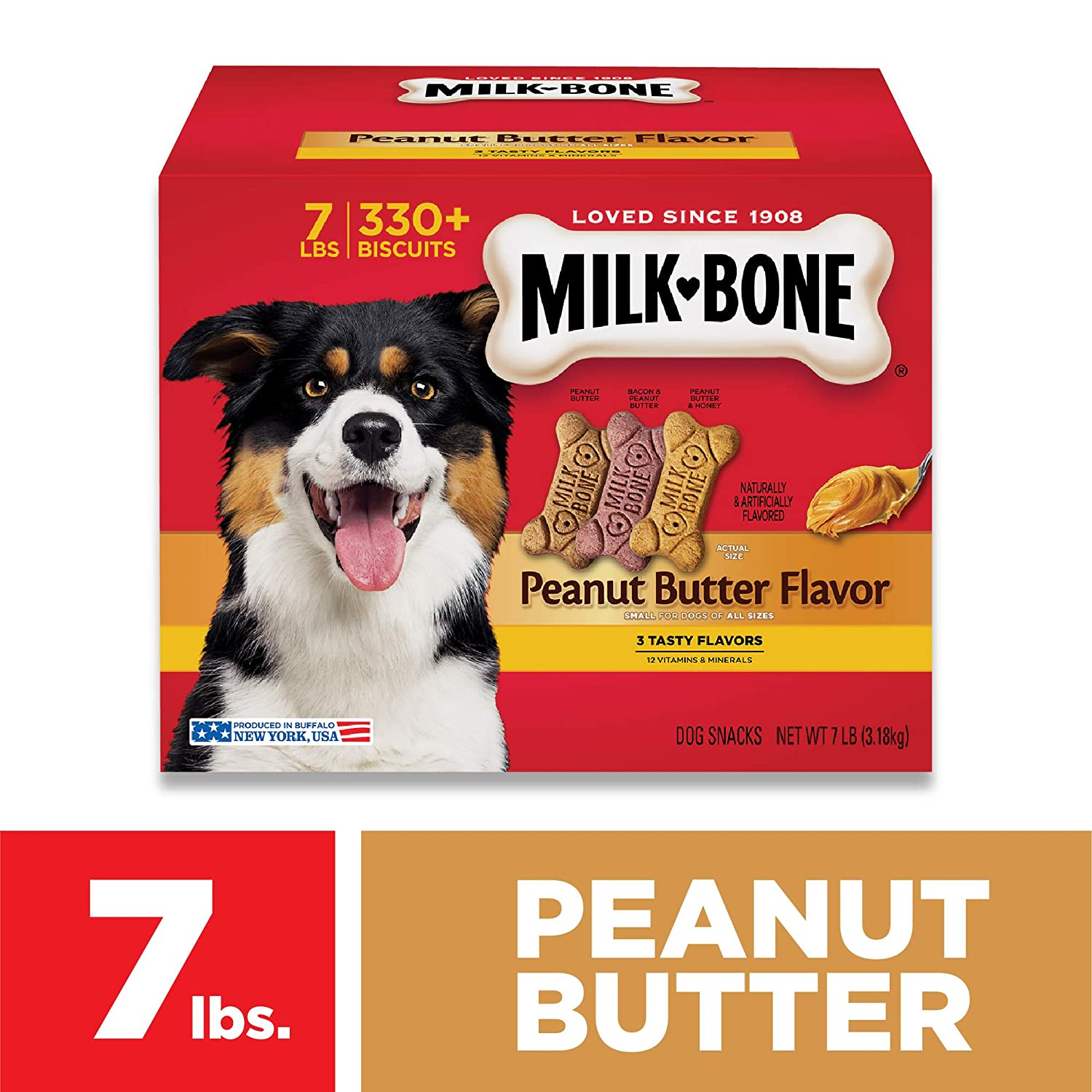 Milk-Bone Peanut Butter Dog Treat