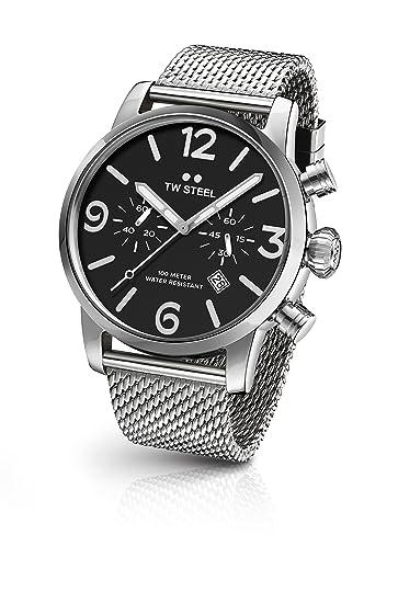 TW Steel Reloj de hombre cronógrafo Maverick ms1024bio-mb13 419