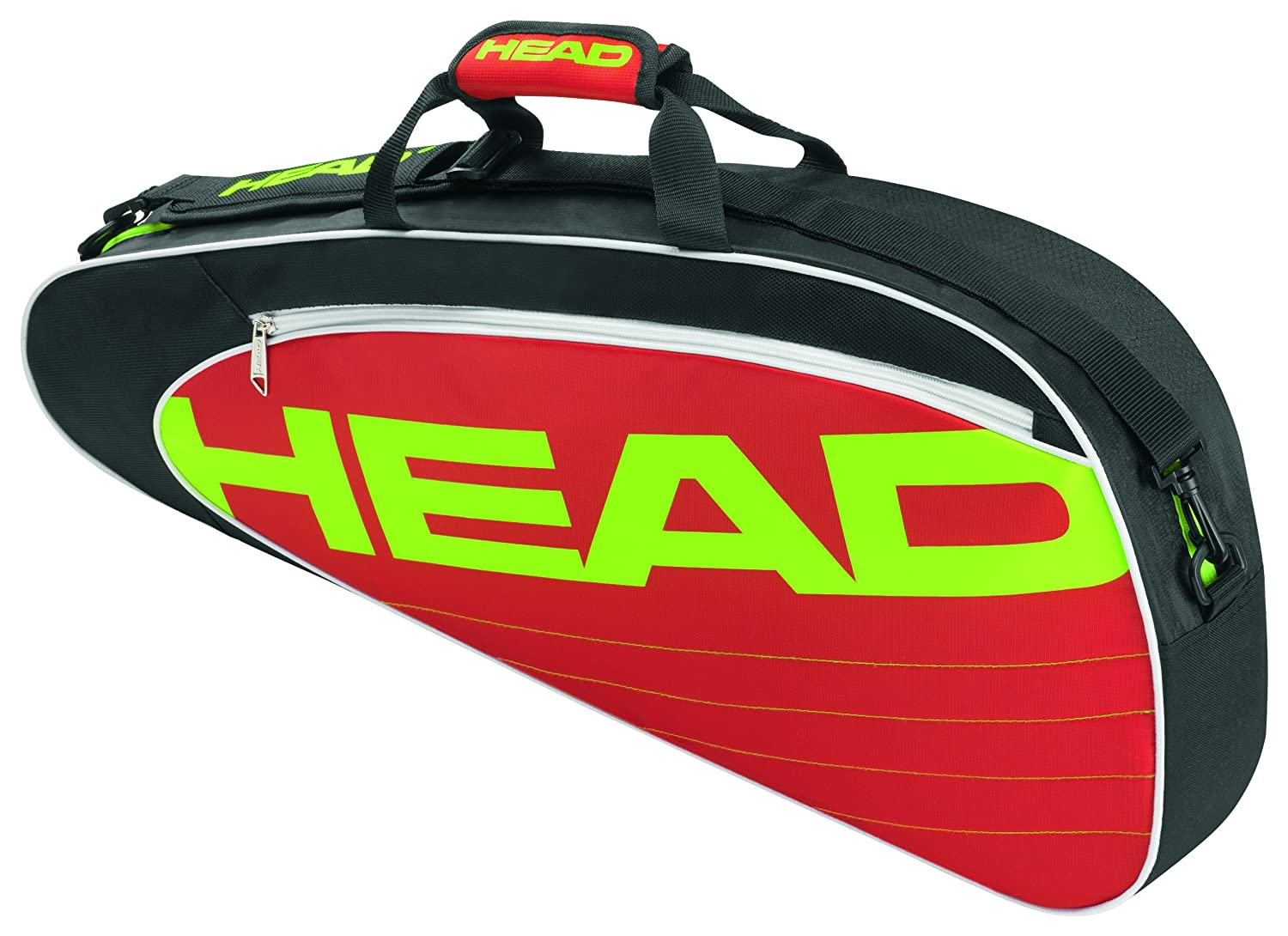 fb8a0486a4 Buy Head Elite Pro 3 pack Tennis Bag Black Red Online at Low Prices in  India - Amazon.in