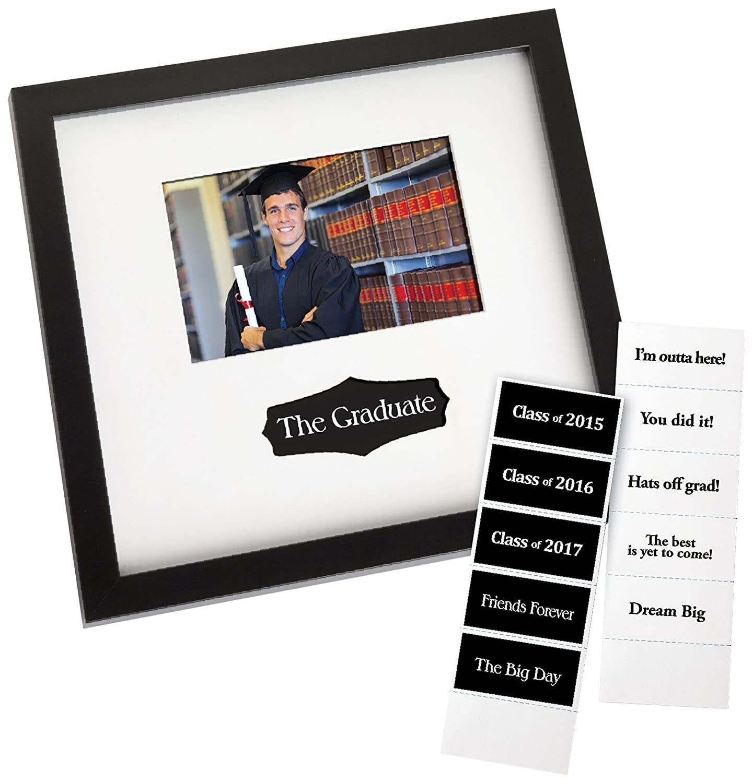 Amazon.com - Prinz Graduation Autograph Frame in Black Finish with ...