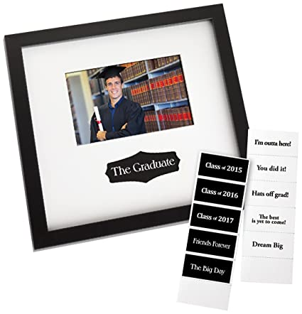 Amazon.com - Prinz Graduation Autograph Frame in Black Finish with ...