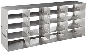 "Thermo Scientific Side Access Freezer Rack, 5 Door, 16-2"" Box, 22.1"" D x 5.4"" W x 9.4"" H"