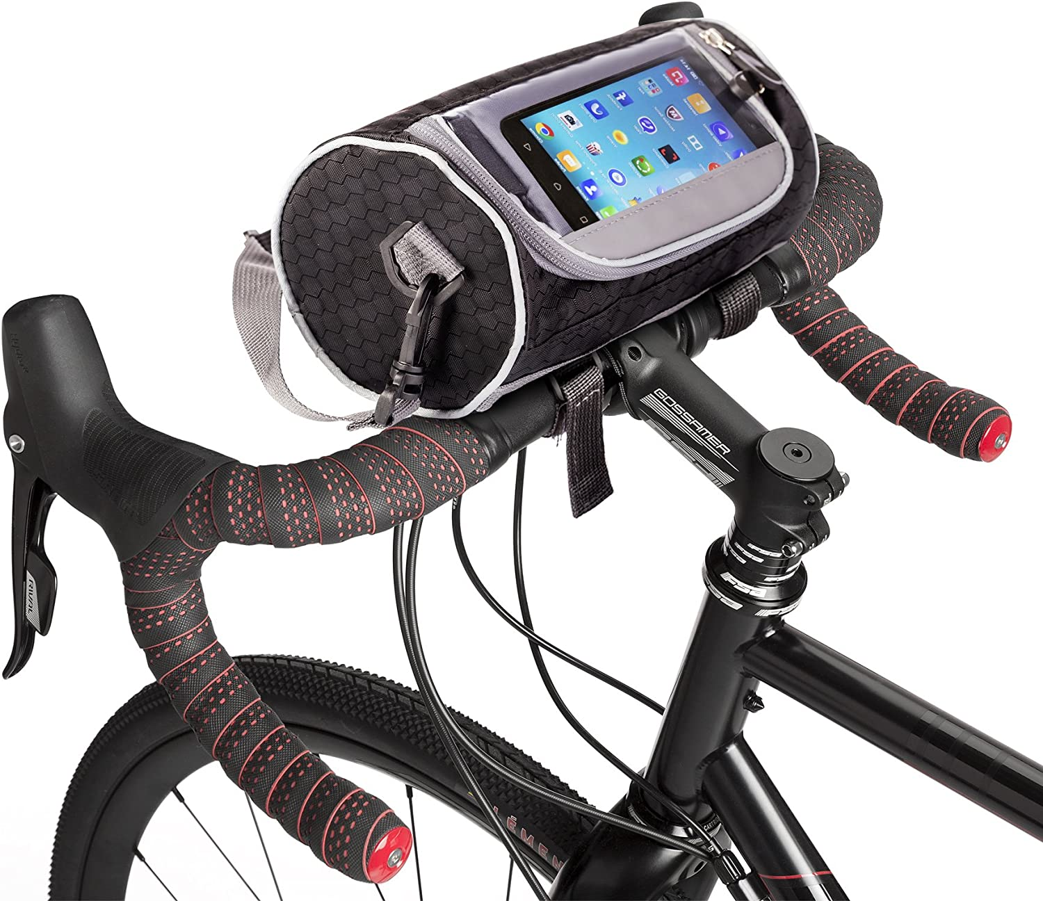Waterproof Mountain Bike Frame Front Bag Pannier Bicycle Mobile Phone Holder Bag