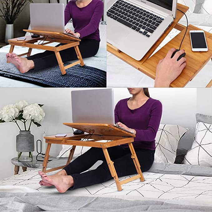 Amazon.com: Plegable portátil/ordenador computadora de pie ...