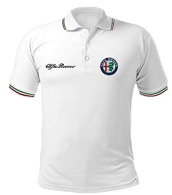 Polo Camiseta Estilo Alfa Romeo Mito Giulietta Giulia Stelvio ...
