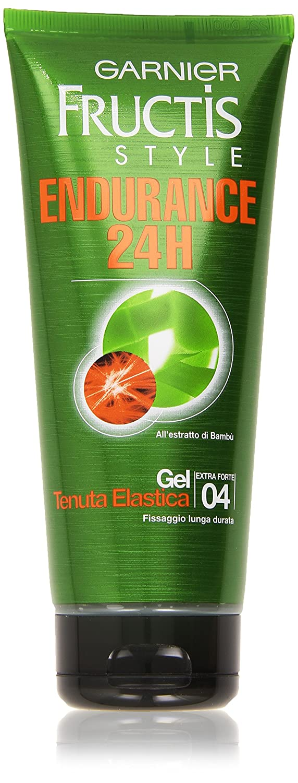 Garnier Fructis Endurance 24H Gel Tenuta Elastica, 200 ml - [confezione da 6]