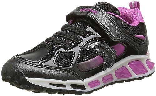 Y Zapatos Geox es Niñas Girl Para Shuttle J Zapatillas D Amazon RWr8RvUz