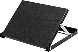 WL Professional Steel Calf Stretcher, Adjustable Ankle Incline Board and Stretch Board, Slant Board with Full Non-Slip Surface, 16