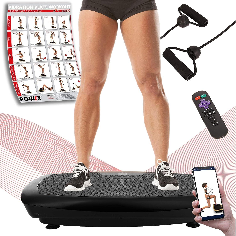 Vibrationsplatte 3D POKAR Ganzkörper Fläche Trainingsgerät Fitness Vibration